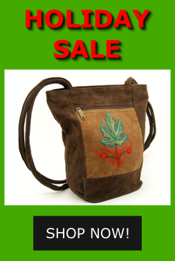 Poinsettia Lotus Bag and more